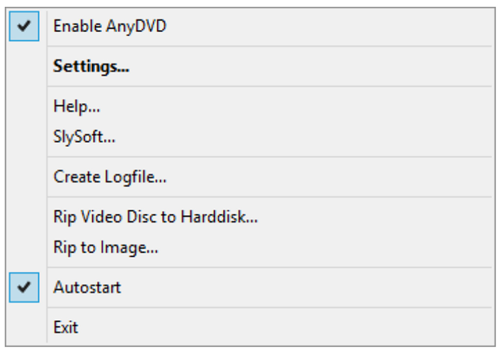 Quick Installation of Redfox AnyDVD HD