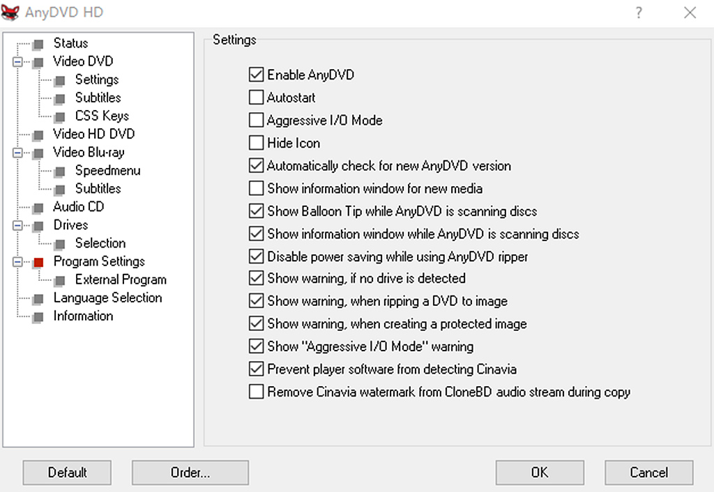 Customized Settings after Installation